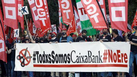 Huelga de los trabajadores de CaixaBank  por las condiciones del ERE