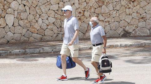 Felipe VI hace su primera aparición en Mallorca, sin Letizia ni sus hijas
