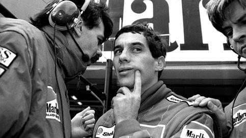 El coche fantasma de Ayrton Senna y su desconocida y tapada hazaña