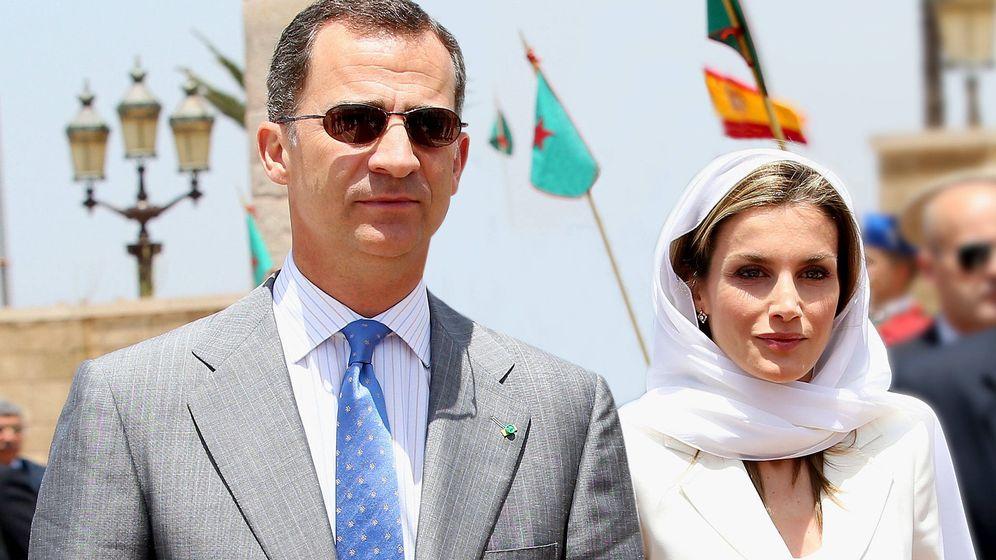 Foto: Felipe y Letizia, en Marruecos. (Getty)