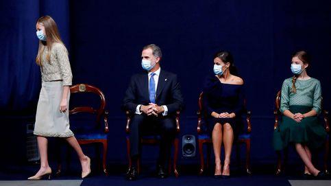 El cambio de chip de Leonor en los Premios Princesa de Asturias: sobria, serena y sin dramatismos