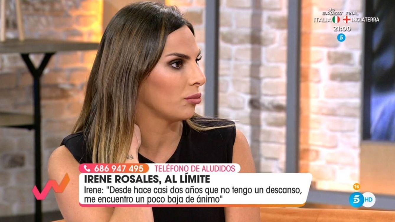 Irene Rosales abandona para siempre su puesto en 'Viva la vida': No me compensa