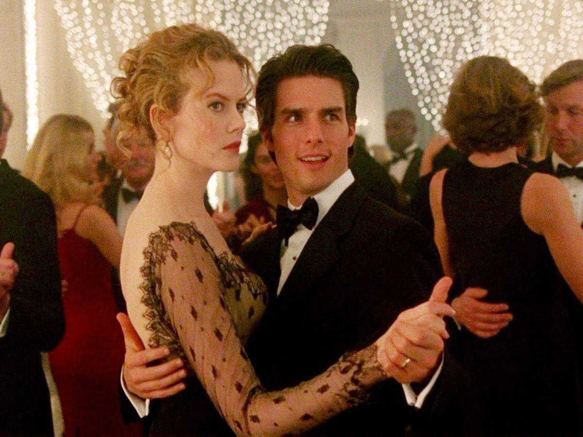 Foto: Tom Cruise y Nicole Kidman en un fotograma de 'Eyes wide shut'.