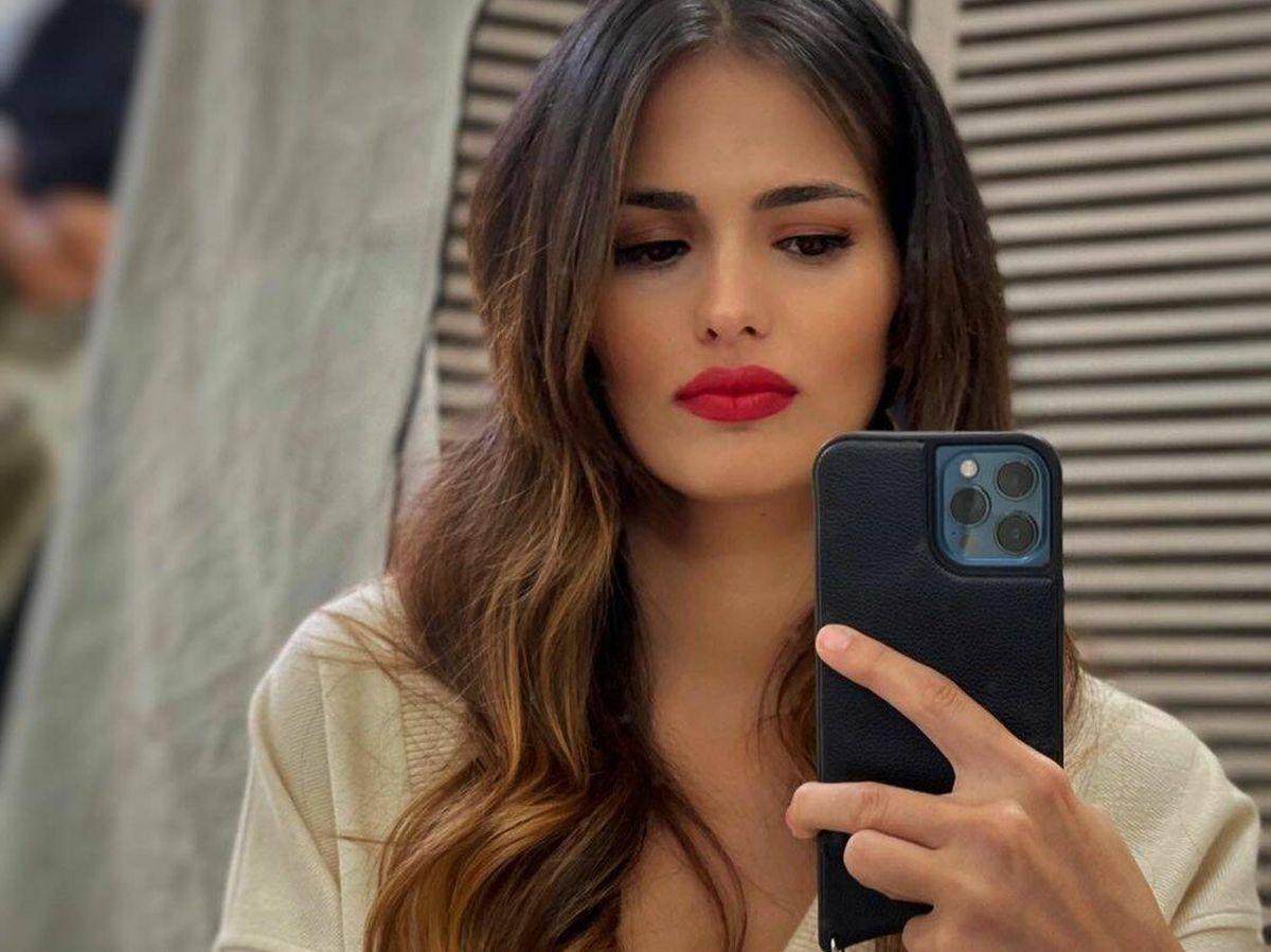 Foto: El último cambio de look de Sara Sálamo. (Instagram @sarasalamo)