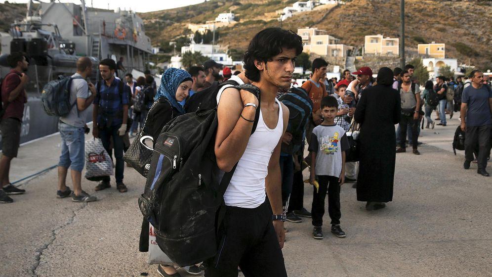 Foto: Un refugiado sirio de Idlib en una imagen de archivo. (Reuters)