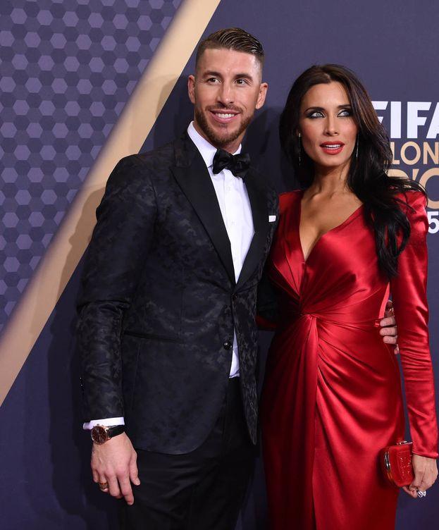 Foto: Ramos y Rubio durante una gala deportiva. (Getty)