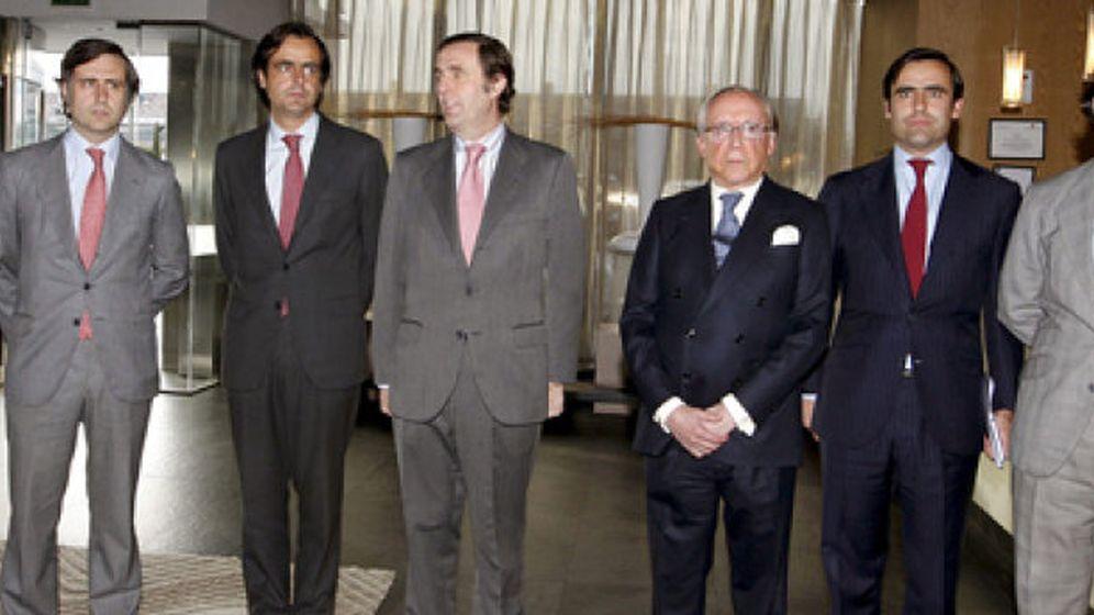 Foto: La familia 'supernumeraria' de José María Ruiz Mateos