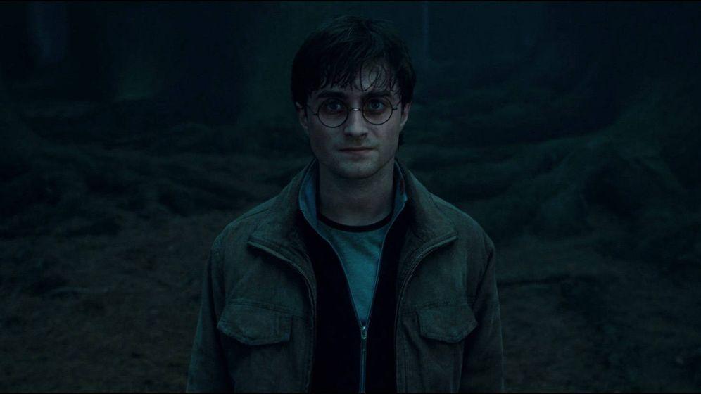 Foto: Daniel Radcliffe en 'Harry Potter y las reliquias de la muerte'.