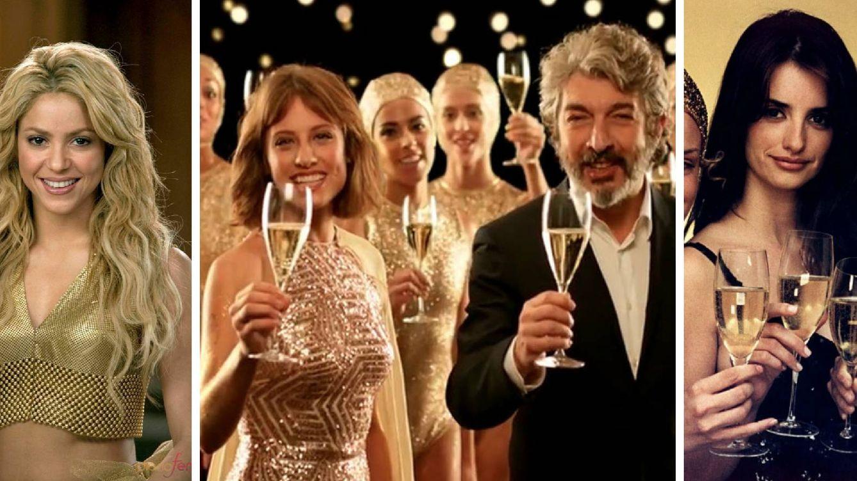 Penélope Cruz, Shakira, Paul Newman: famosos con burbujas