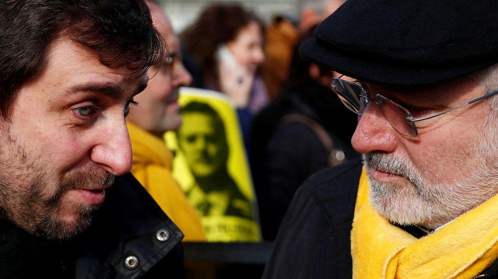 Foto: Imagen de archivo de Toni Comín (i) y Lluis Puig (d) en Bruselas. (Reuters)