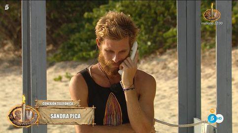 'Estocazo' a Tom en 'Supervivientes': Sandra Pica lo deja (otra vez) por teléfono