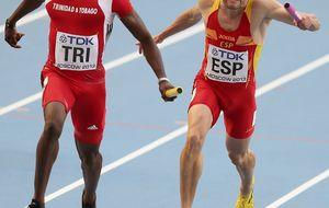 España bate el récord de 4x100, pero 5 centésimas la alejan de la final