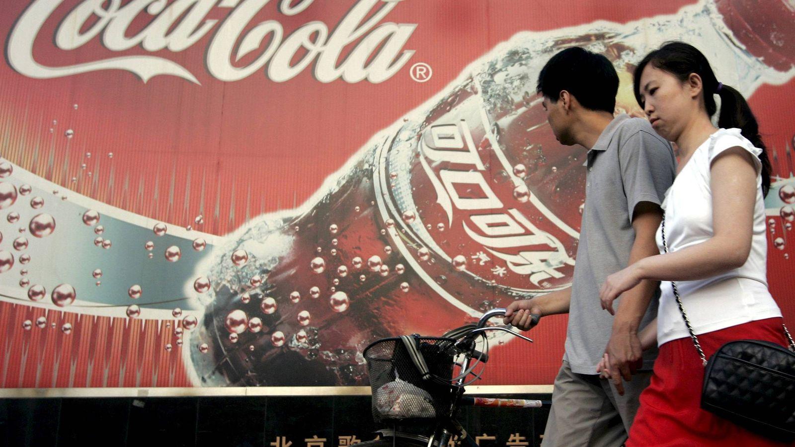 Foto: China y la diversificación disparan a Coca-Cola a máximos históricos