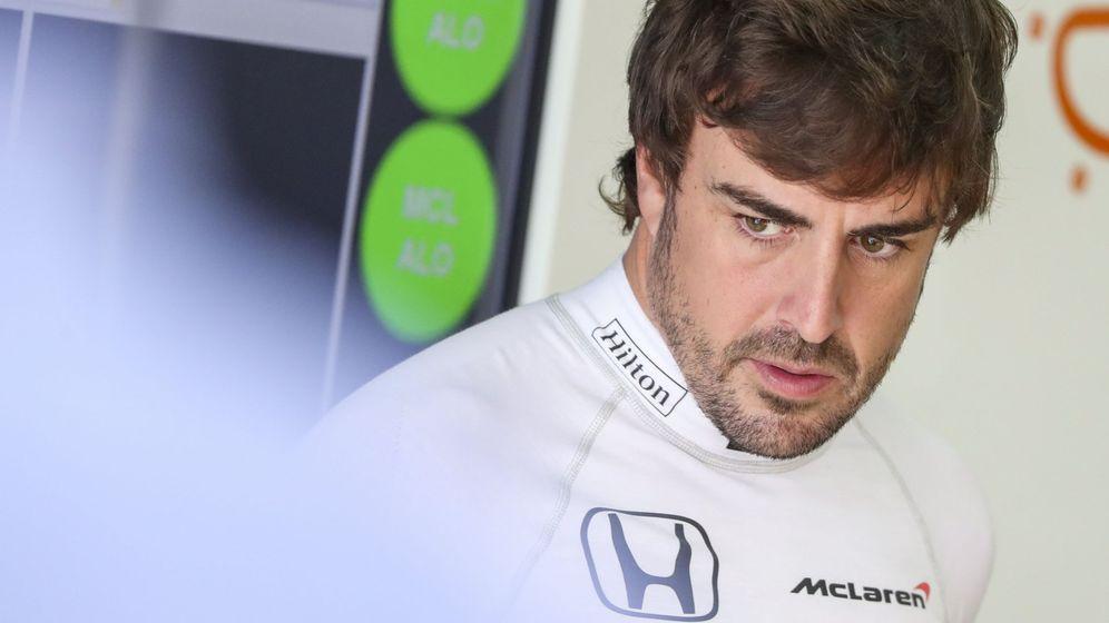 Foto: Fernando Alonso en 2017, último año en F1 con Honda. (EFE)