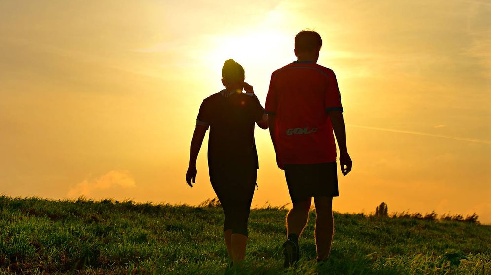 Foto: Caminar o correr una hora diaria ha sido clave para que este hombre adelgazara 30 kilos (Foto: Pixabay)