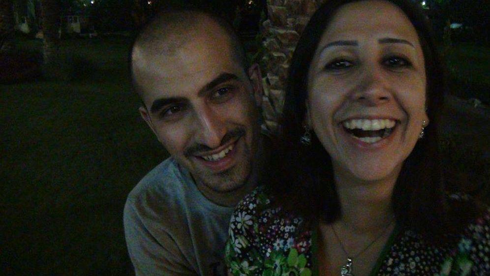 Foto: Bassel y Noura durante su romance