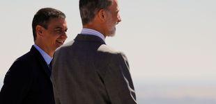 Post de La de Pedro Sánchez al rey Felipe y otras 'cobras' reales que han dado que hablar