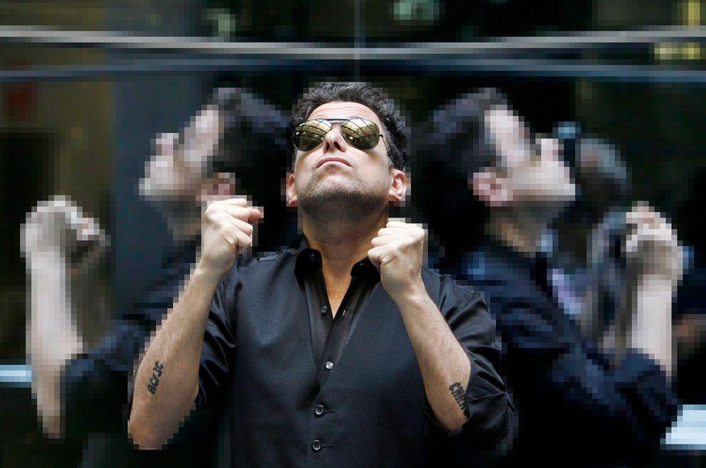 Foto: Andrés Calamaro, estrella del rock