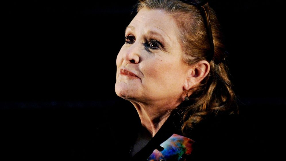 Foto: Carrie fisher death caused by sleep apnea