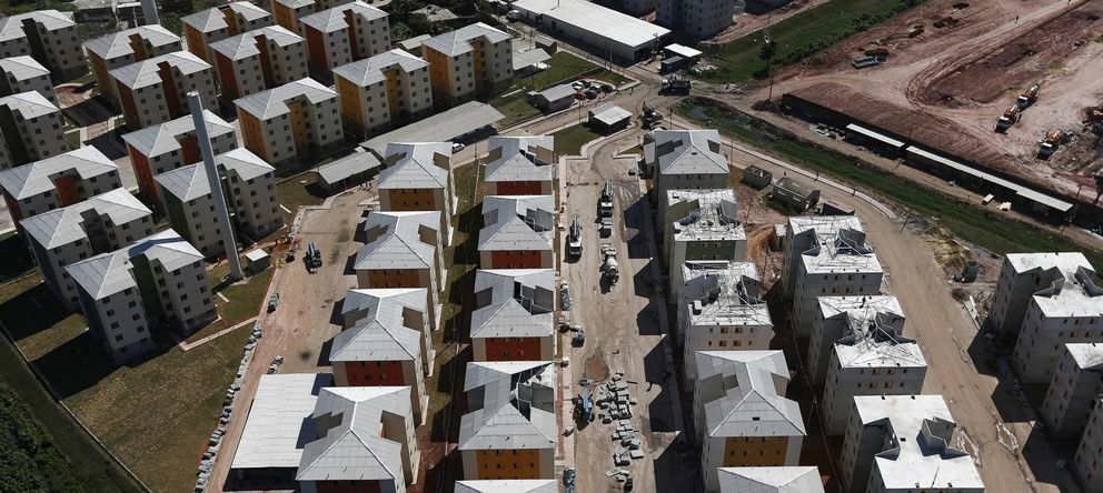 Foto: Imagen de un grupo de viviendas (EFE)