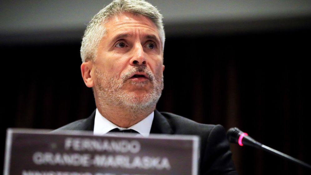 Foto: El ministro del Interior en funciones, Fernando Grande-Marlaska (Efe)