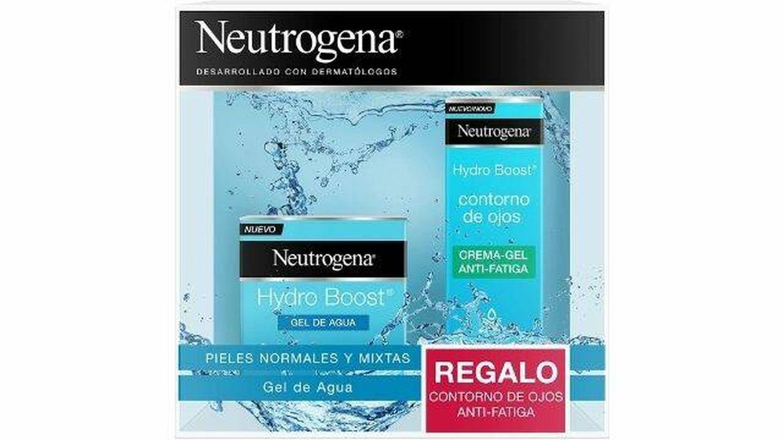 Kit Hydro Boost de Neutrogena. (Cortesía)