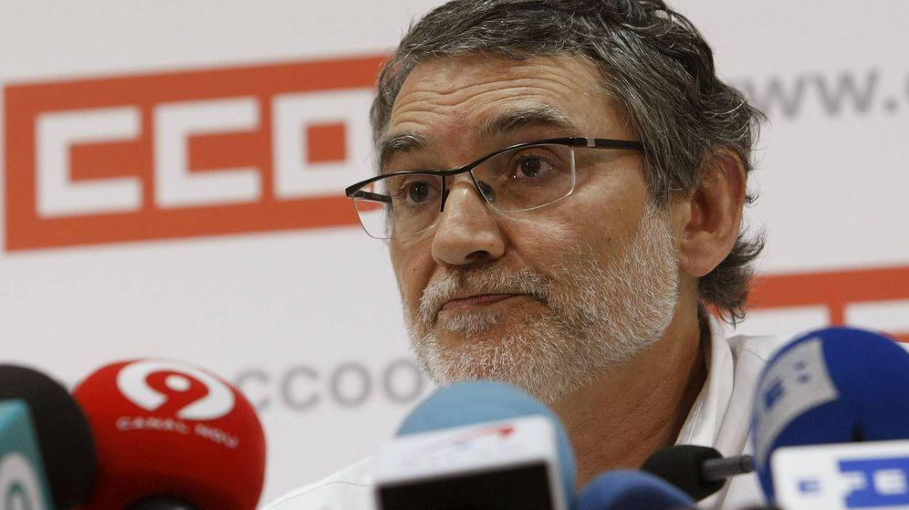 Foto: El secretario de Organización y Comunicación de CC.OO., Fernando Lezcano. (EFE)