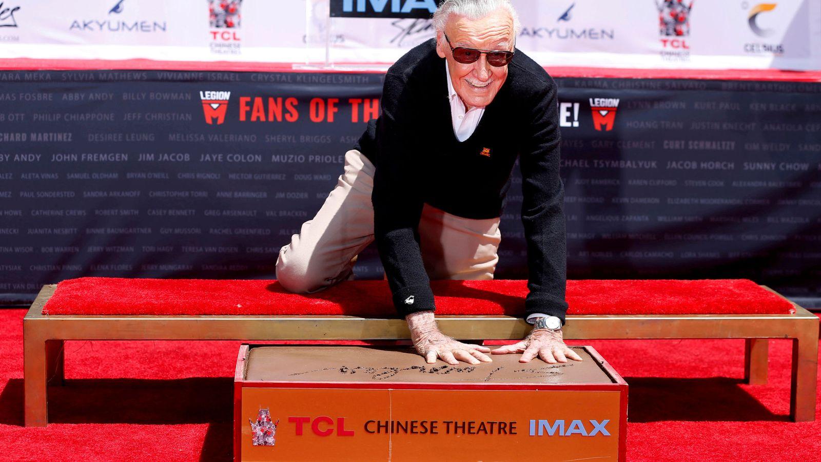 Foto: Stan Lee, el 'padre' de Spiderman. REUTERS