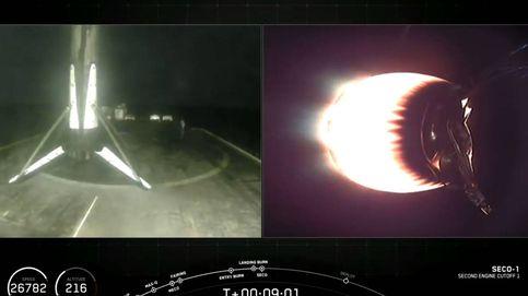 SpaceX envía otra tanda de satélites al espacio tras su histórico lanzamiento