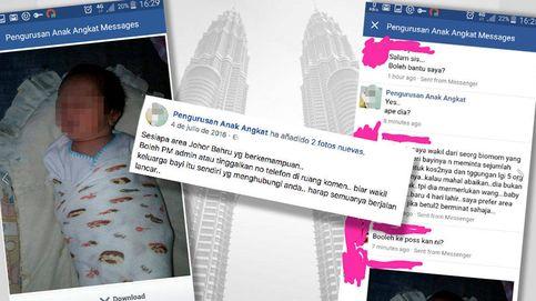 El negocio de las 'granjas de bebés' en Malasia: Los mestizos son más caros porque son los más guapos