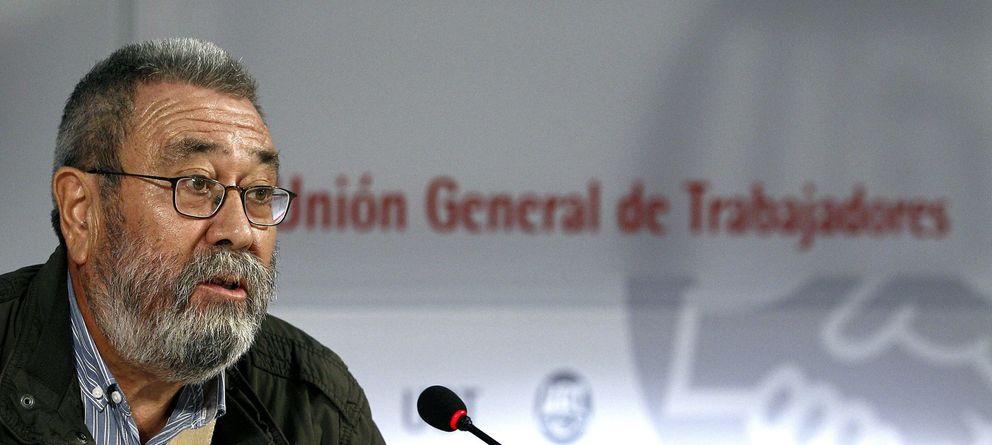 Cándido Méndez anuncia una gran movilización para protestar contra el 'pensionazo'