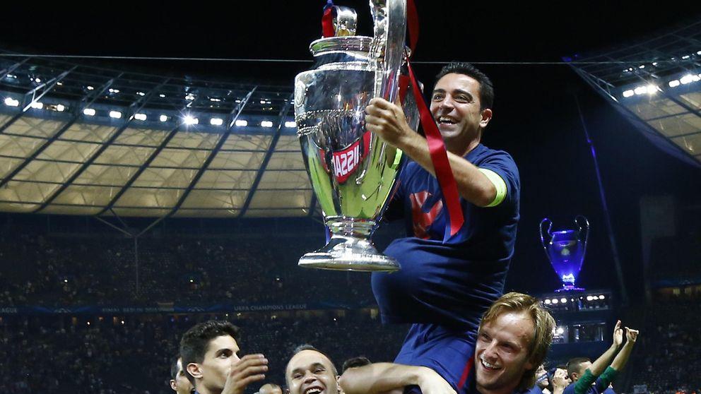 Xavi se despidió con la Quinta y con una cosa en la cabeza: no perder la pelota