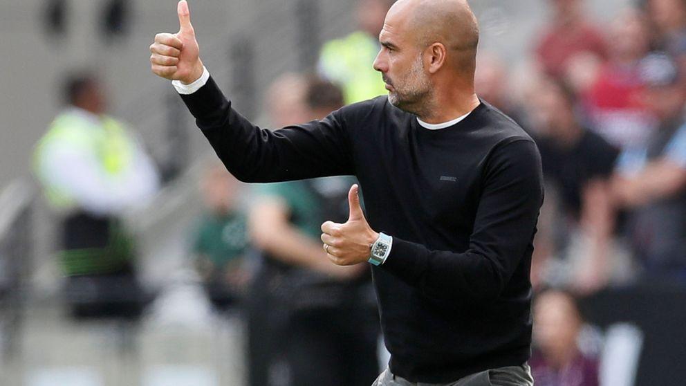 El Manchester City de Pep Guardiola es multado por fichar a menores