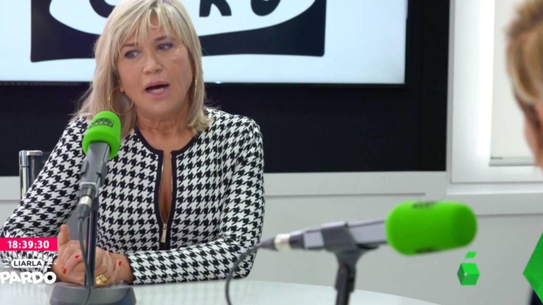 Julia Otero, en La Sexta. (Atresmedia)