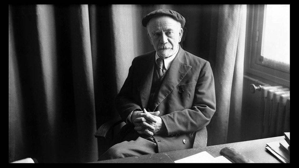 Foto: El escritor Pío Baroja
