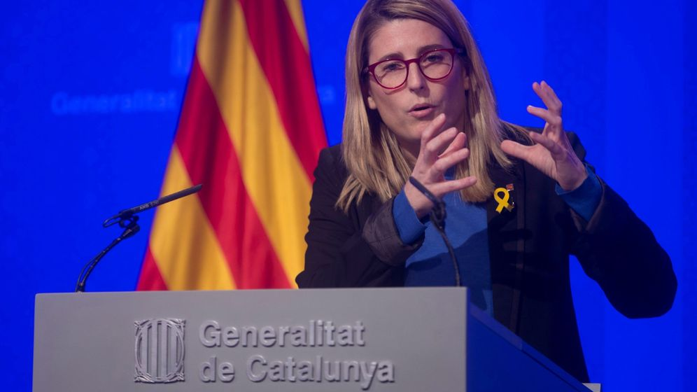 Foto: La 'consellera' de Presidència, Elsa Artadi. (EFE)