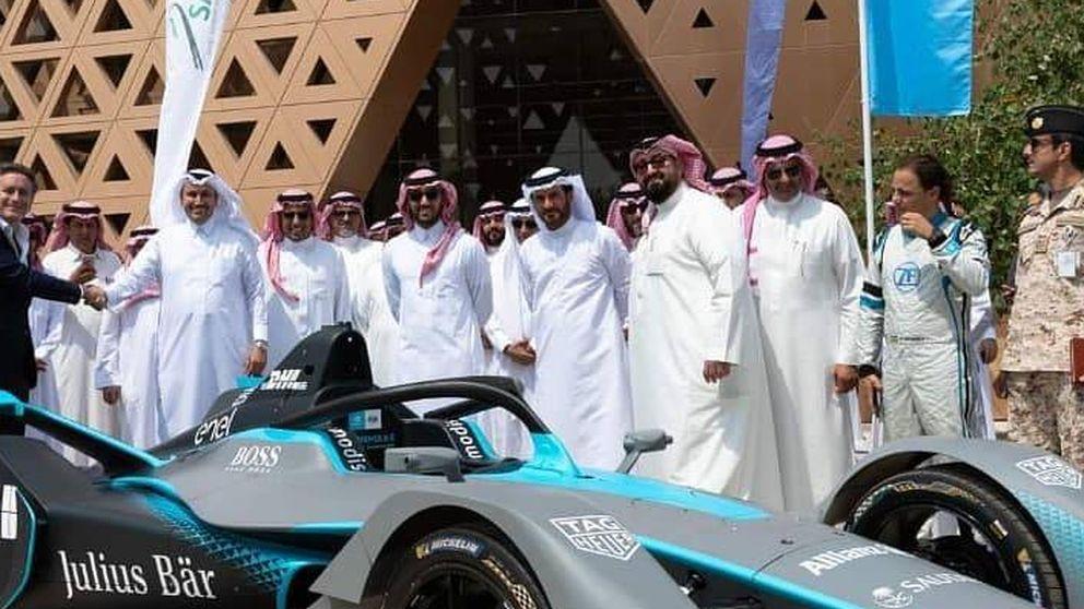 Alejandro Agag lleva (con éxito) sus carreras ecológicas a Arabia Saudí