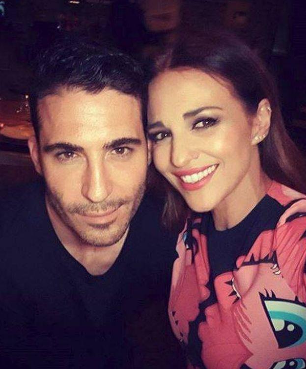 Foto: Miguel Ángel Silvestre y Paula Echevarría. (Instagram)
