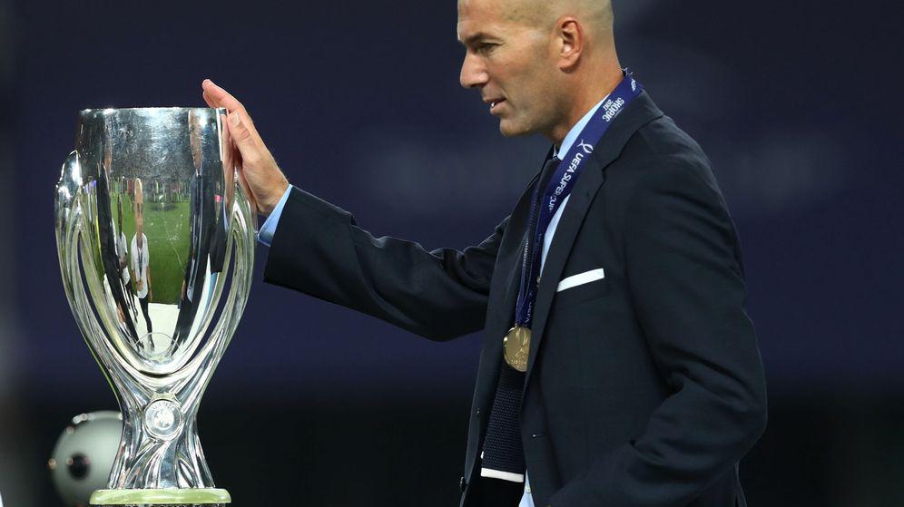Foto: Zidane ha ganado su sexto título en año y medio. (Reuters)