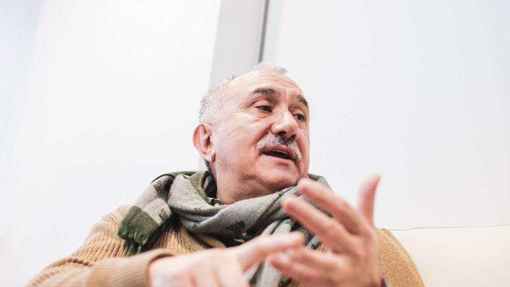 Foto: El secretario general de la UGT, Pepe Álvarez. (Jorge Álvaro Manzano)