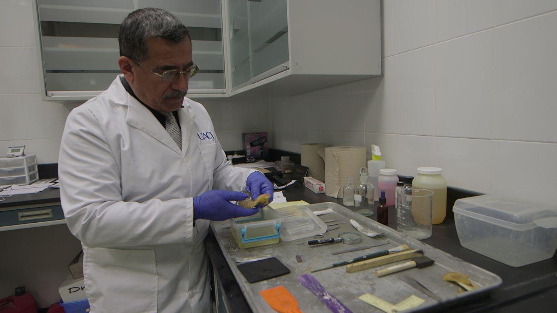 Foto: Alejandro Hernández Cárdenas, forense de Ciudad Juarez (D.B)