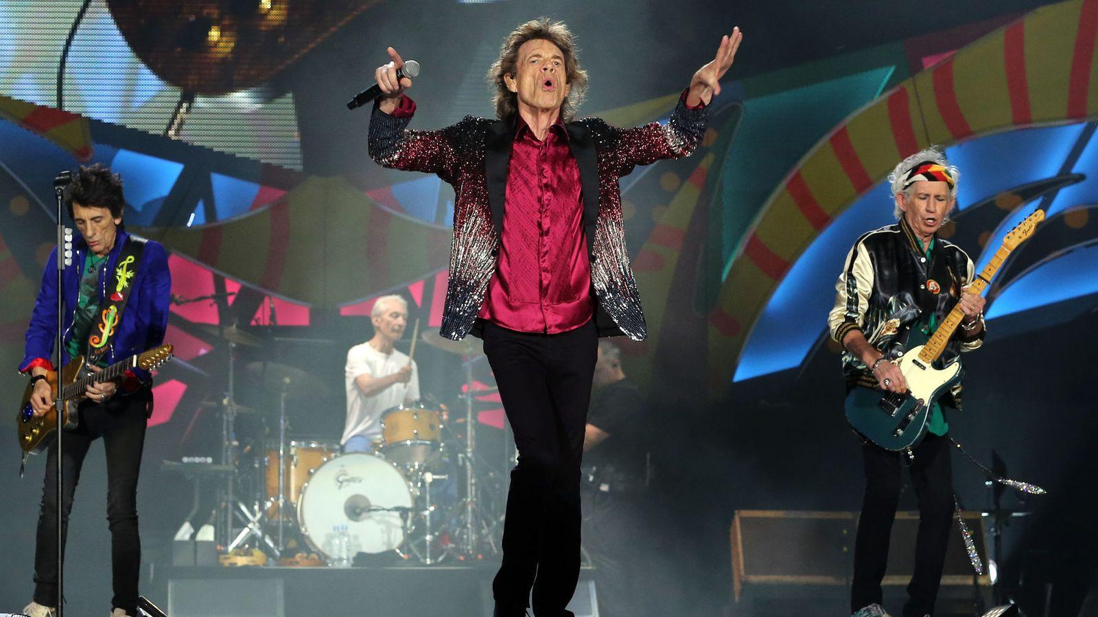 Foto: Los Rolling Stones en el concierto que dieron en marzo en Cuba (Efe)