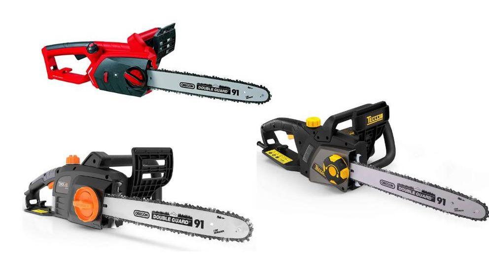 Las mejores motosierras eléctricas para cortar madera