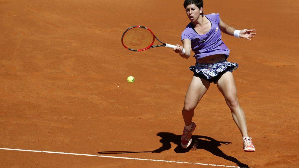 Suárez y Muguruza se estrenan con victoria en el Mutua Madrid Open