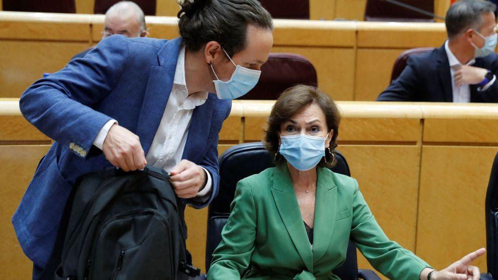 El PP exige el cese del ministro Garzón por atacar al Rey mientras Calvo pide calma