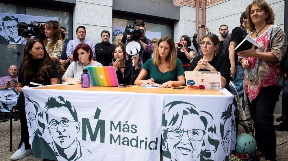 Foto: Asamblea de Más Madrid celebrada el pasado domingo para decidir presentar una candidatura a las elecciones generales del próximo 10 de noviembre. (EFE)