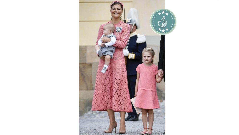 Familia Real de Suecia: Las mejor y peor vestidas del bautizo de ...