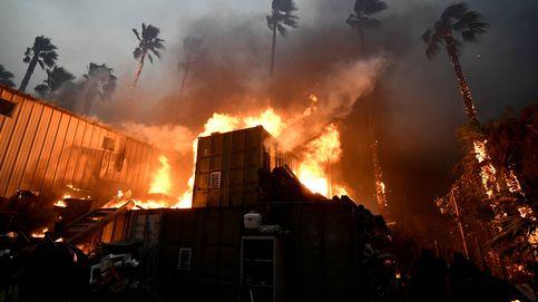Atascos entre las llamas y rescates en yate: las horas más dramáticas de California