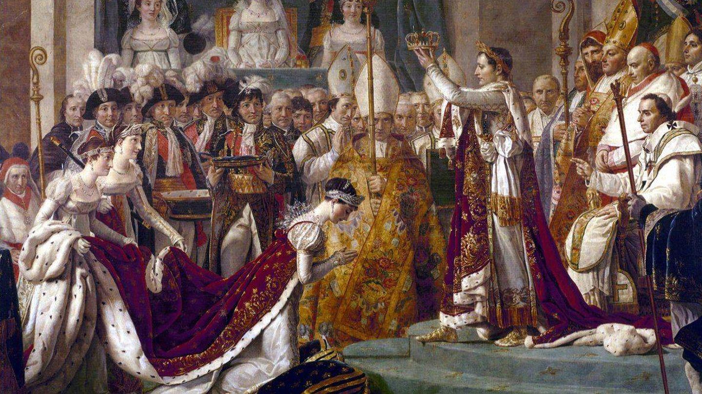 'La coronación de Napoleón'