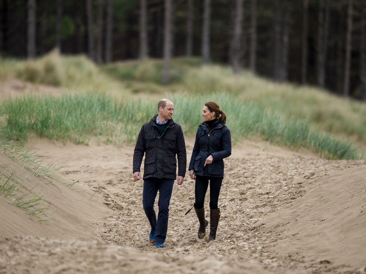 Foto: El príncipe Guillermo y Kate Middleton, en una imagen de archivo. (EFE)